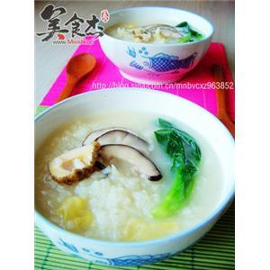 香菇螺片粥