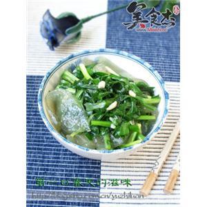 韭菜炒小饹馇