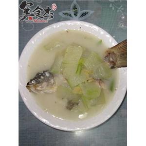鲤鱼冬瓜汤
