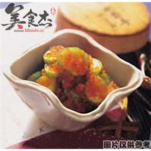 鱼卵黄瓜泡菜