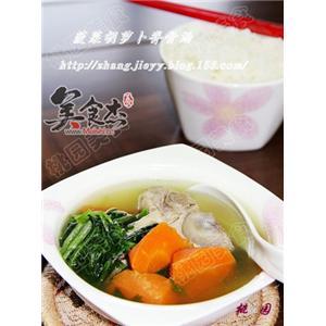 胡萝卜菠菜脊骨汤