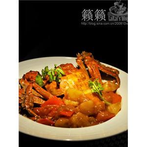 金黄咖喱蟹