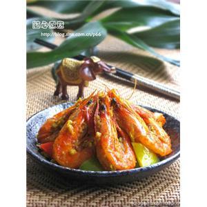 泰式咖喱皇炒虾