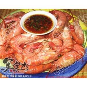 白灼竹节虾