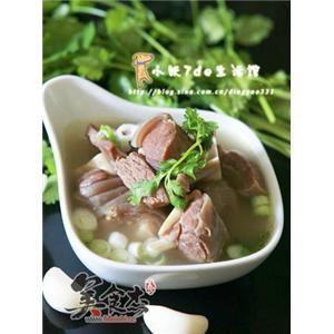 香浓羊肉汤