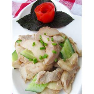 菱角炒肉片