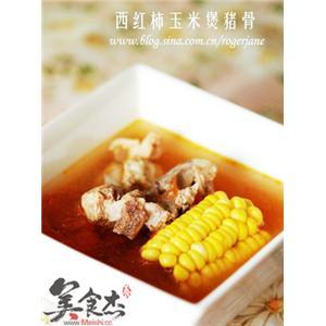 西红柿玉米猪骨汤