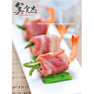 培根鲜虾卷
