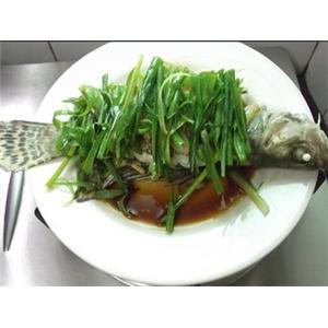 【粤菜】清蒸桂花鱼