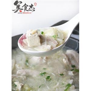 白菜豆腐锅