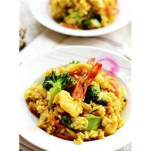 咖喱海鲜烩饭