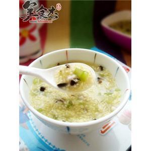 香菇西芹小米粥