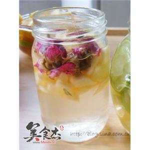 苹果玫瑰醋