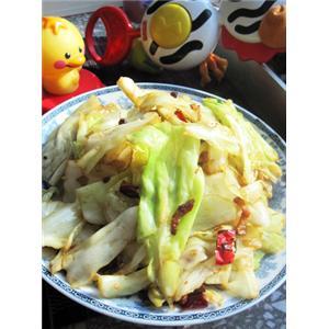 猪油手撕圆白菜