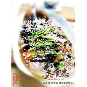 豆豉蒸鸦片鱼