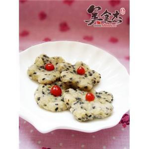 橄榄油煎豆渣米饼