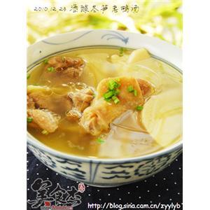 酒酿冬笋老鸭汤