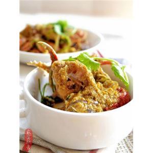 泰式黄咖喱炒蟹