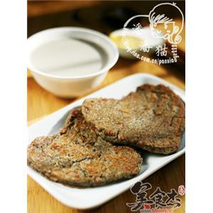 黑豆培根饼