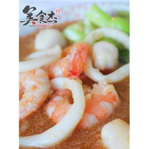 龙虾海鲜泡饭