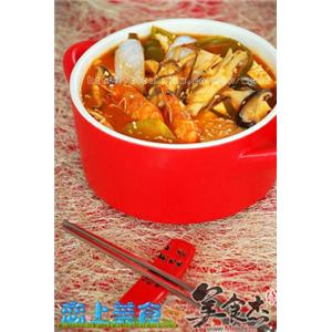 韩式海鲜大酱汤