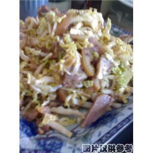 大白菜拌猪头肉