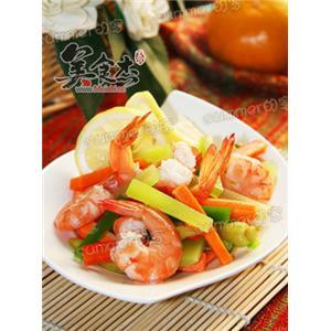 柠檬泡椒虾
