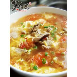 番茄腰花蛋汤
