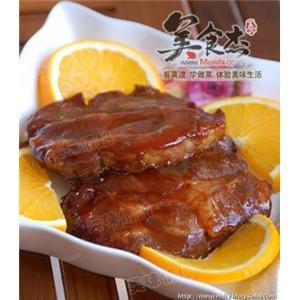 韩式烤肉汁烧猪颈扒