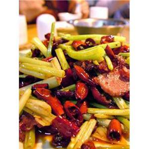 钳子米炒芹菜