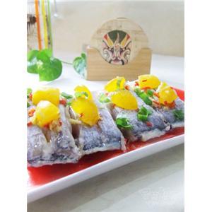 蛋黄焗带鱼