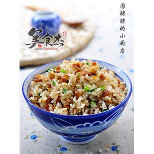 香葱豆干炒饭