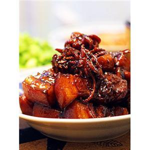 鲜墨鱼焖五花肉