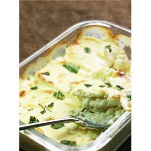 奶油奶酪焗马铃薯