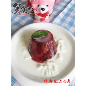 樱桃冰沙冻