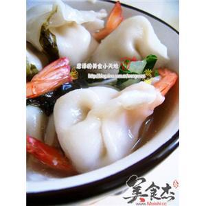 水煮虾尾饺