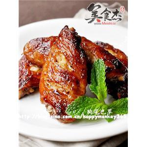 黑胡椒蚝油烤鸡翅