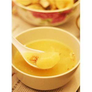 咸猪骨煲白萝卜汤