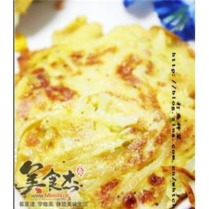奶香土豆丝饼