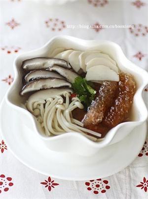 海茸芯杂菇养生汤