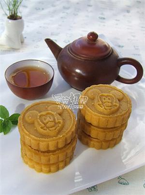 奶香南瓜燕麦糕