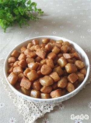 五香蛋酥棋子豆