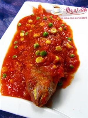番茄红杉鱼