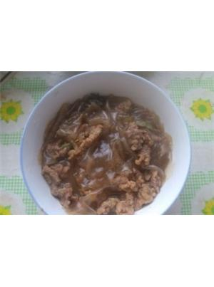 酥肉炖粉皮