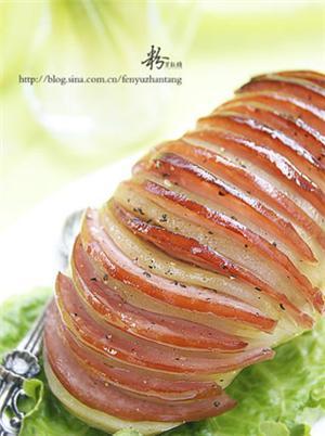 黑椒风琴土豆