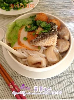 潮州鱼蛋粉
