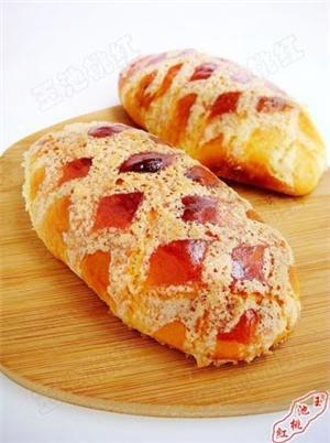酥香大面包