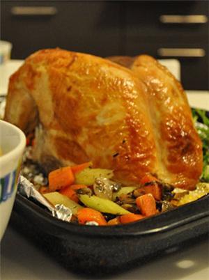 英式烤火鸡