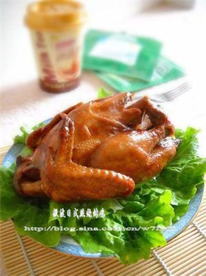 日式照烧酱烤全鸡