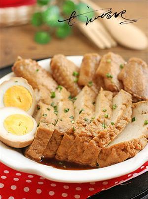 卤鸡翅豆腐